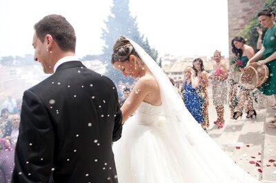 O que jogar nos noivos para dar sorte após o casamento?