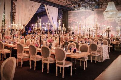 La boda del año con la mejor decoración del 2015 es...