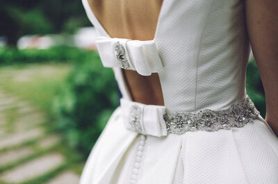 8 signos que te indican que NO es tu vestido de novia. ¡Ojo al número 5!