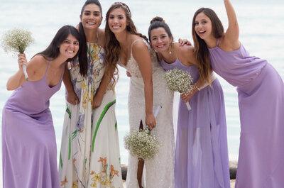 Detrás de cada novia hay una gran dama de honor
