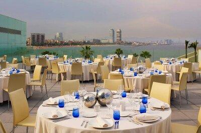 Los 8 mejores hoteles para bodas en Barcelona
