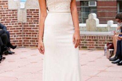Vestidos de noiva Anne Bowen coleção Outono 2013
