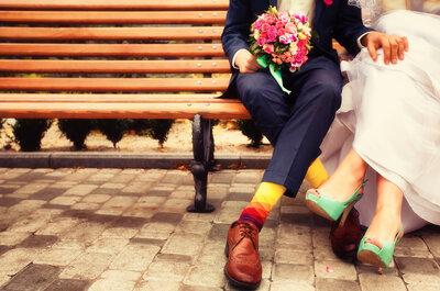 Kolorowe skarpetki pana młodego - nowoczesność czy tandeta?