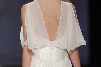 Suknie ślubne z dekoltem w kształcie litery V
