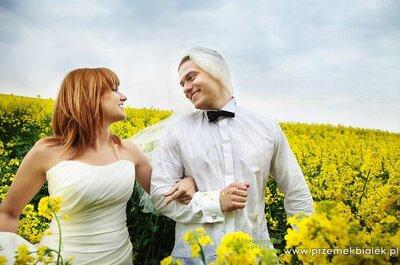 Romantyczna sesja ślubna Marty i Łukasza