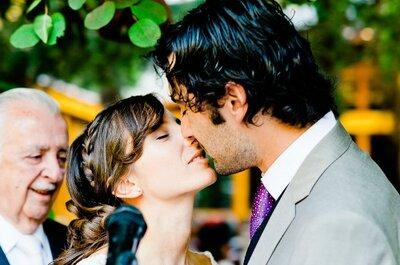 El matrimonio rústico de Paulina y Eduardo