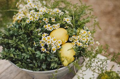Come organizzare un matrimonio al profumo di agrumi: ecco le idee più belle