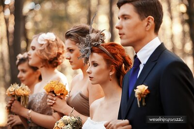 Ślub w dniu Haloween? Ślubne inspiracje, które musisz zobaczyć!
