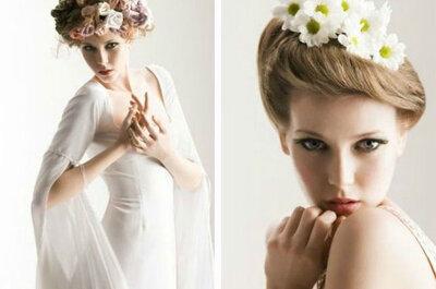 Acconciature da sposa con capelli lisci per il 2015: chignon, trecce e capelli in libertà