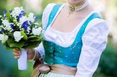 Passend zum Oktoberfest in München: Heiraten in Tracht!