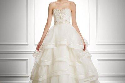Vestidos de novia Carolina Herrera, otoño-invierno 2013