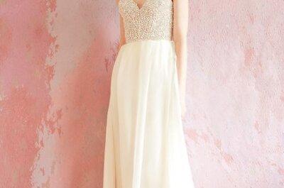 Nowoczesny vintage – suknie ślubne Sarah Seven 2013