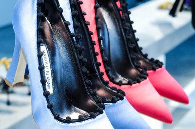 Manolo Blahnik Fall 2014/15: o glamour vitoriano para os seus pés