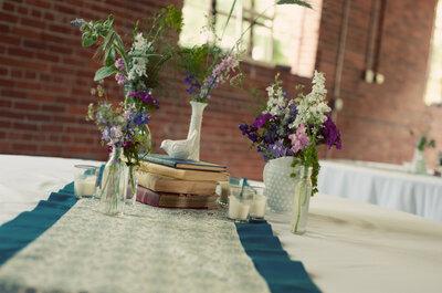 Los detalles viejos jamás habían sido tan lindos: Decoración de boda con botellas