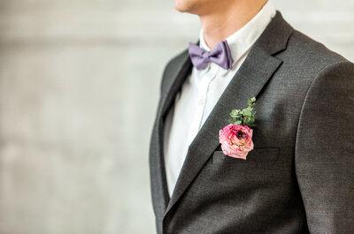 Jak wybrać garnitur ślubny? Poradnik dla Pana Młodego.