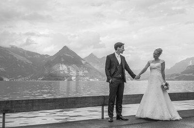Zivile Trauung in der Rosenburg – Sarah & Marco verwirklichten ihre Traumhochzeit!