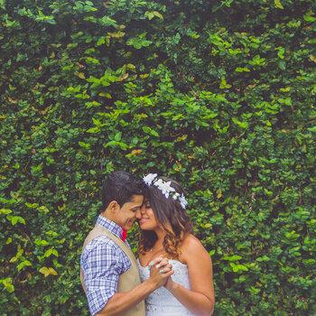 Jardín vertical para bodas. ¡Sorprende con los photocalls más originales!