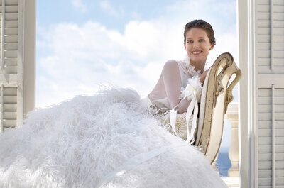 Pronovias 2015: Glamour and style for your wedding day