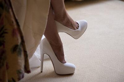5 razones para hacerte los zapatos de novia a medida