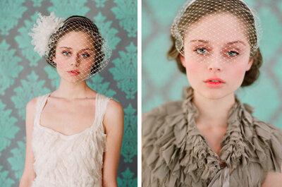 Estilismo para una novia vintage. ¿Cómo completar el look?