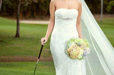 Lieu atypique pour une réception de mariage: pourquoi pas un club de golf?