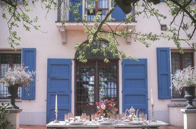 Un matrimonio nel giardino della casa di famiglia: immaginate qualcosa di più speciale?