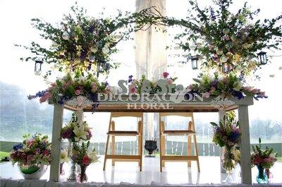 La decoración perfecta para una boda extraordinaria