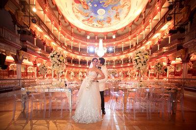 Cómo organizar una boda en sólo 4 meses: ¡La clave es el 4!