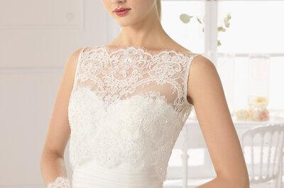 Acessórios de noiva lindos e incríveis da Rosa Clará 2015