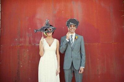 Animate a hacer las fotos más divertidas en tu boda