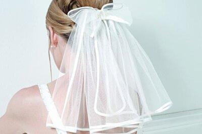 Sélection de voiles de mariée courts