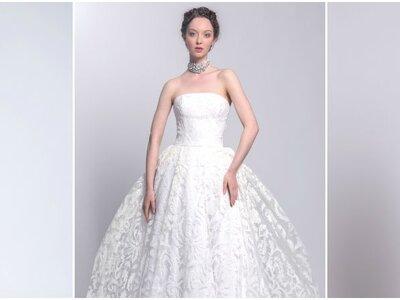 Collection Ana Quasoar Couture 2017 : pour une mariée naturelle et radieuse