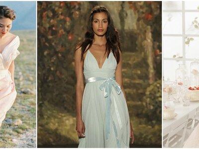 Vestidos de noiva coloridos 2016: elegância, estilo e modernidade!