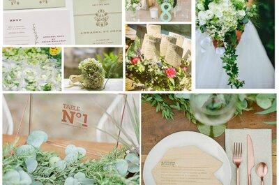 Un mariage tout en vert : nos idées pour une jolie décoration