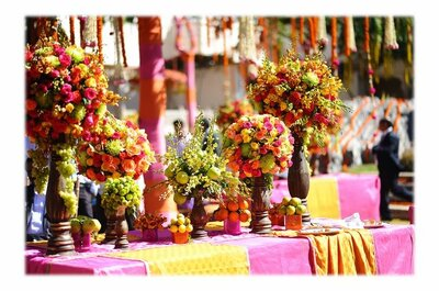 Top 5 Florists in Delhi to make your wedding fabulous