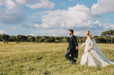 Inspire-se nas fotos de belíssimos casamentos no campo