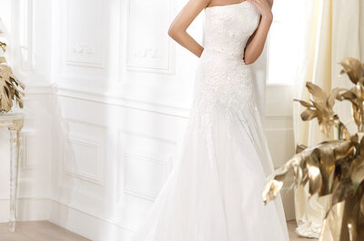 Pronovias: Vestidos de novia 2014 colección Glamour