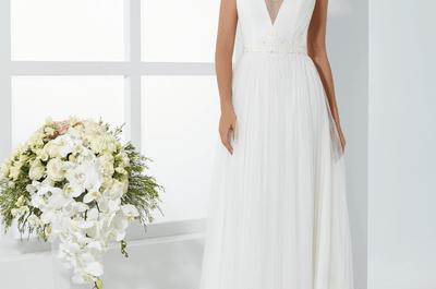 Descubre el avance de la colección de vestidos de novia Just For You 2017