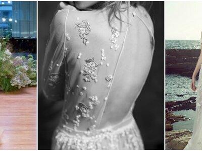 Power Flower : l'explosion florale sur les robes de mariée 2017 !