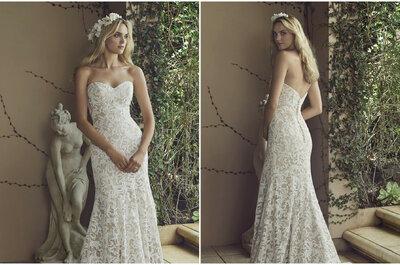 Vestidos de novia fuera de lo común. ¡Estos diseños te van a encantar!
