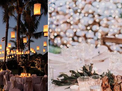 10 ideas para iluminar tu boda de la forma más bonita