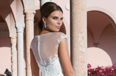 Sweetheart Colección 2015: Vestidos de noiva românticos e cheios de frescura só para si!