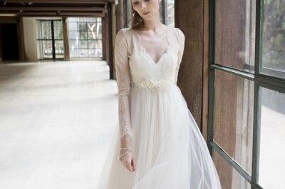 Vestidos de noiva vintage 2017: puro romantismo!