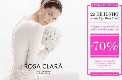 Desconto Rosa Clará até 70%: aproveite já a oportunidade!