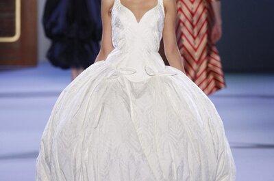 Vestidos de novia de Ulyana Sergeenko en la semana de la moda Alta Costura