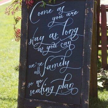 Carteles de boda para todos los estilos, vintage, rústica o bohemia