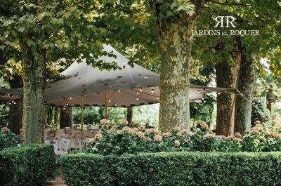 Jardins El Roquer: un espacio singular para una boda única en un entorno espectacular