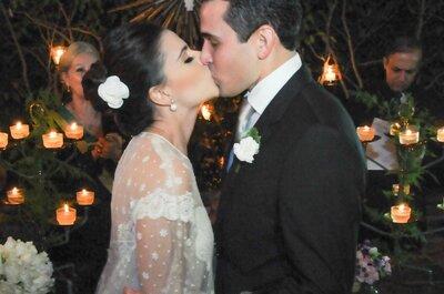 Nanda e Chico: mini wedding vintage em Brasília