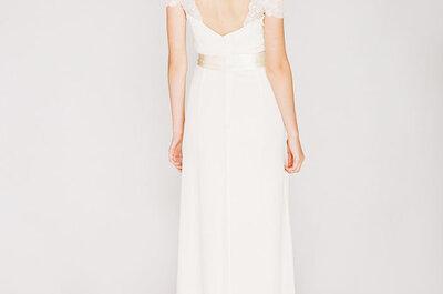 Kolekcja zwiewnych sukien ślubnych Saja 2013