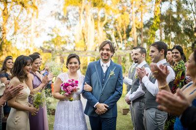 Casamento na fazenda de Thaís e Paulo: ares campestres, toques vintage e personalizado